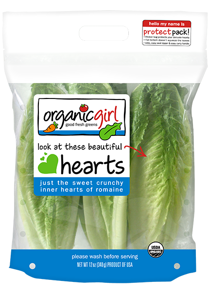 og hearts of romaine 12 oz