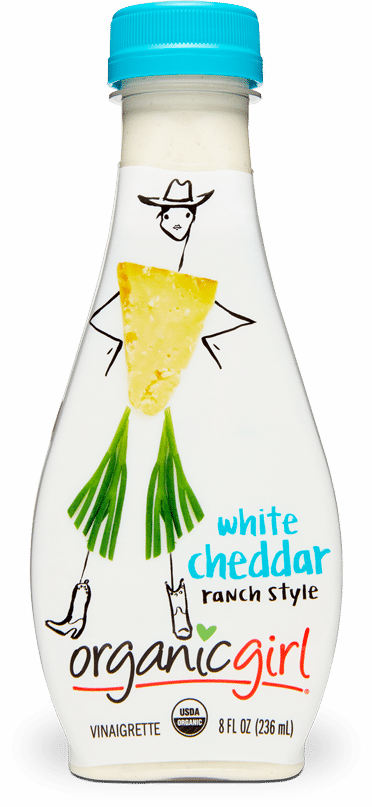 organic girl white cheddar fresh designer dressing