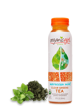 moroccan mint clear greens tea