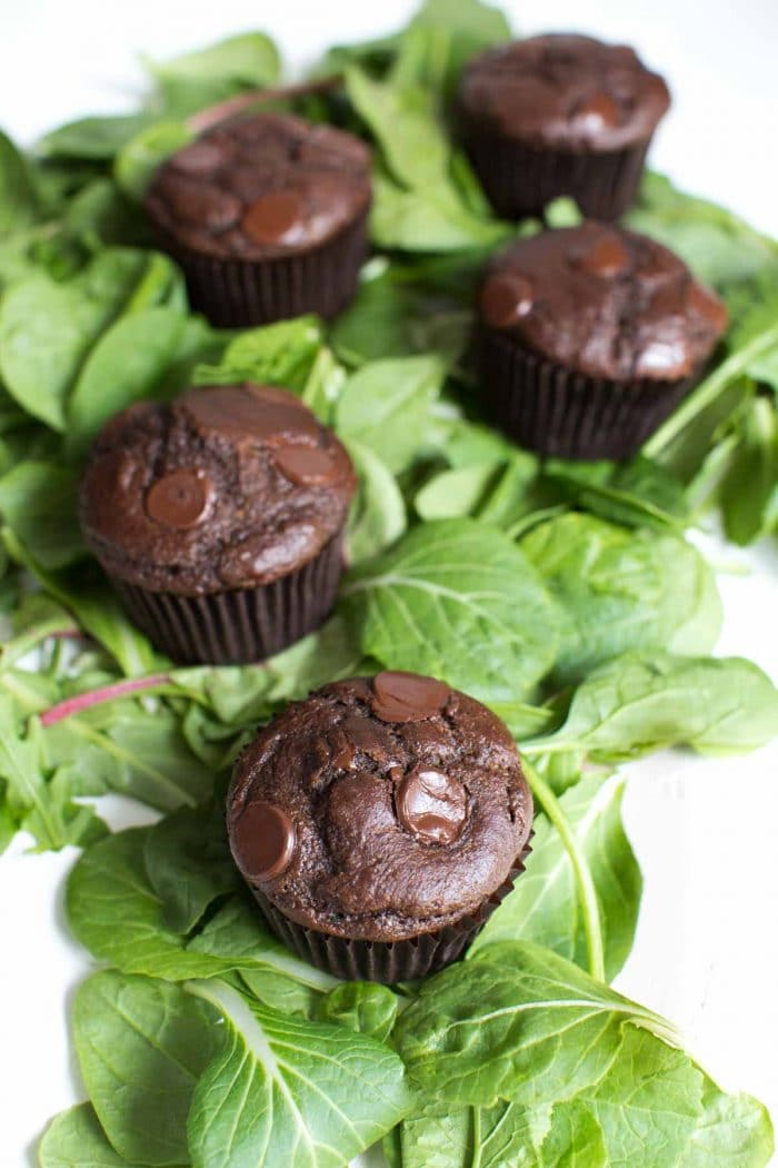 superfood double chocolate muffins recipe from organicgirl
