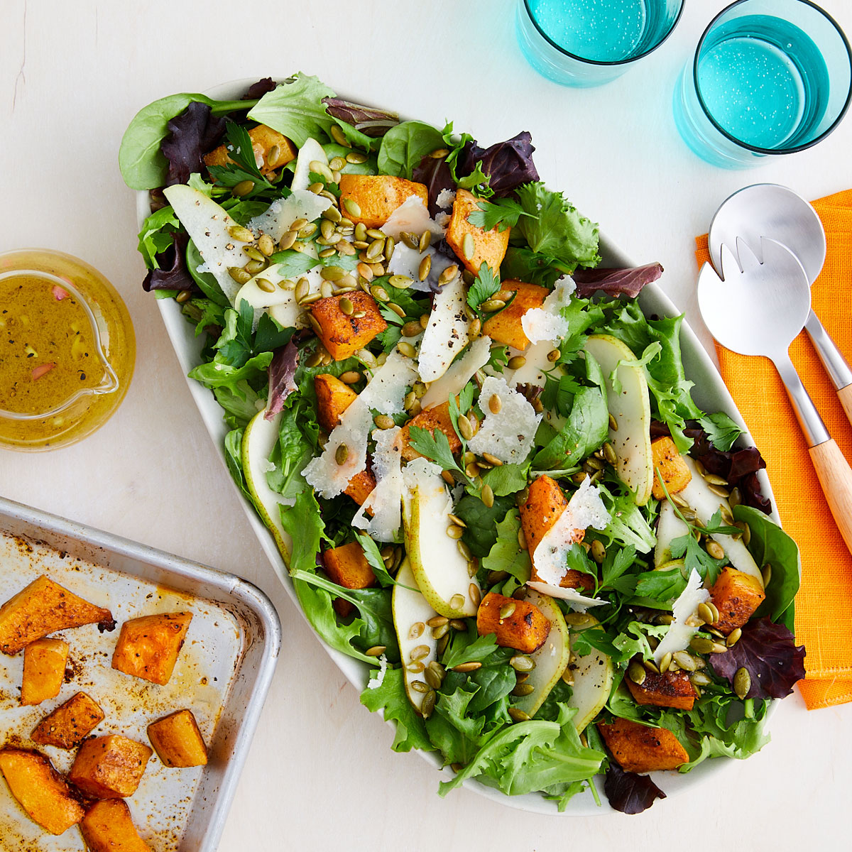 Fall Harvest Salad with pears